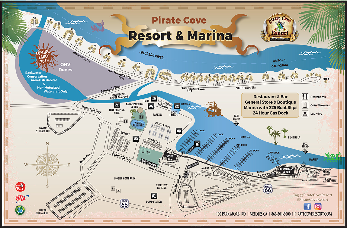 Camping - Pirate Cove Resort on